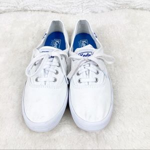 KEDS - Classic Champion Canvas Lace-up Sneakers